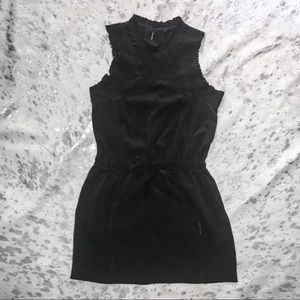 Iro black sleeveless silk mini dress size small
